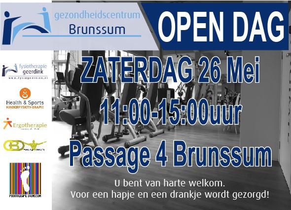 open dag gezondheidscentrum brunssum